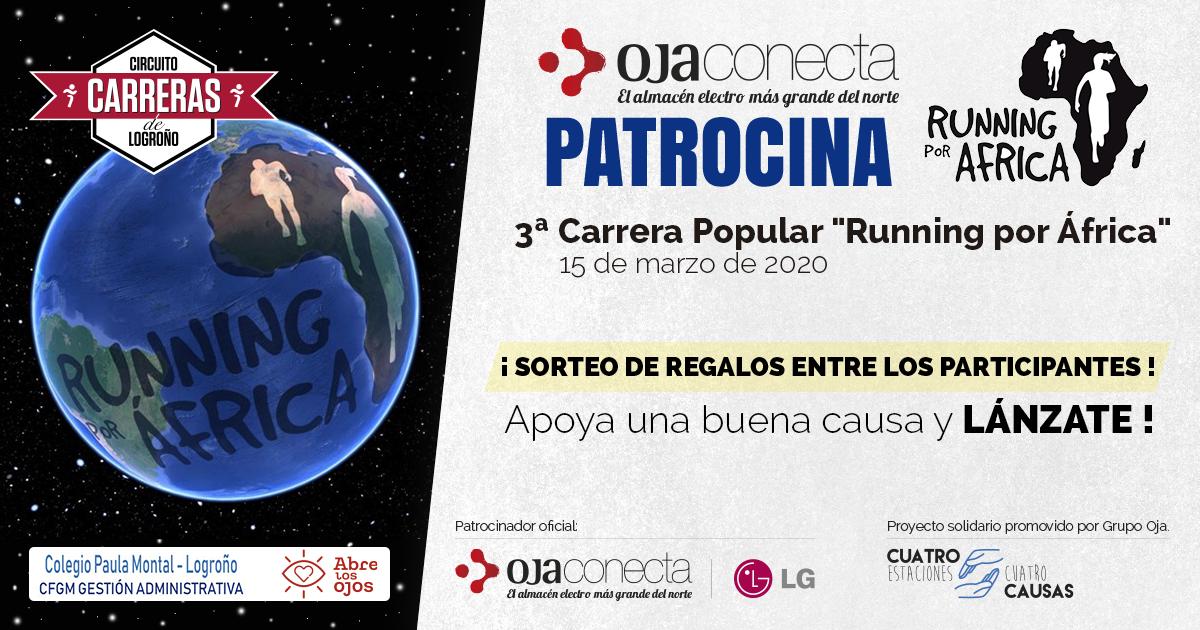 """Carrera Popular """"Running por África""""."""